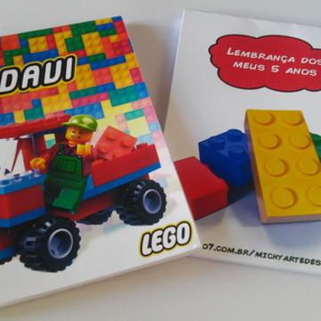 Bloquinho Personalizado LEGO