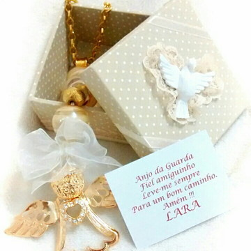 Medalhão Anjo da Guarda