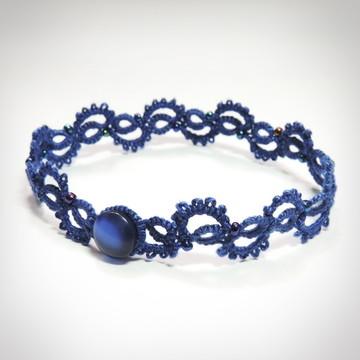 Pulseira Ritmo - Cor Azul Safira