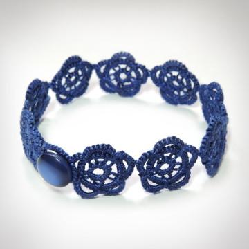 Pulseira Rosales - Cor Azul Safira