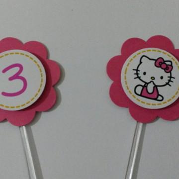 Topper Hello Kitty Personalizado