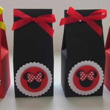 Caixa Milk Tema Minnie e Mickey