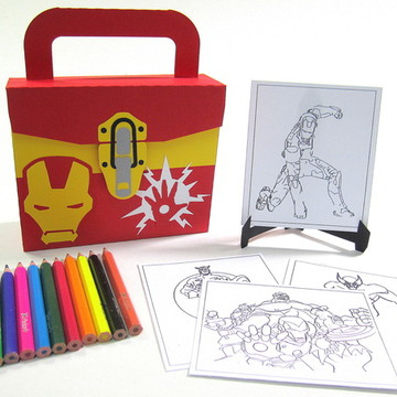 Lembrancinhas Vingadores com Kit Pintura