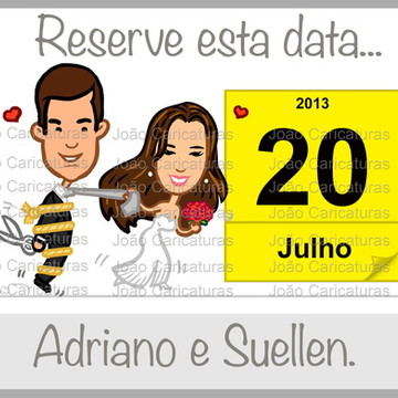 Convite digital Save the Date N