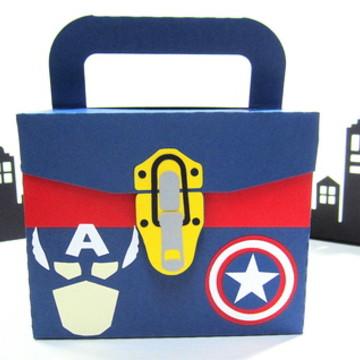 Lembrancinha Capitão América KIt Pintura