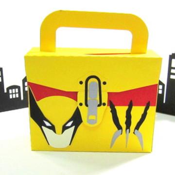 Lembrancinha Wolverine Kit Pintura