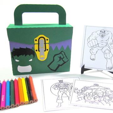 Lembrancinha Hulk com Kit Pintura