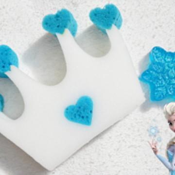 Kit de Banho Frozen Coroa