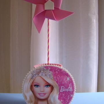 Centro de mesa catavento Barbie