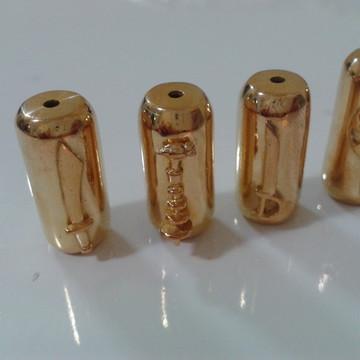 Firma dos Orixas prata com banho de ouro