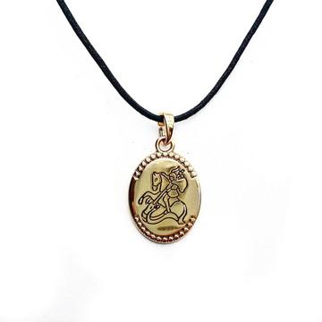 Colar Medalha de São Jorge 1