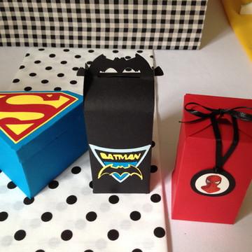 Caixinha personalizada Super Heróis