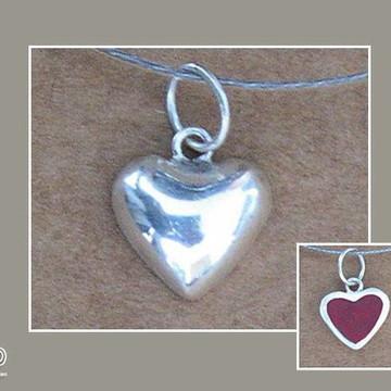 Pingente Mini Coração em prata