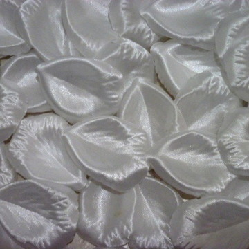 Pétalas Rosa Tecido Cetim Flores Noiva
