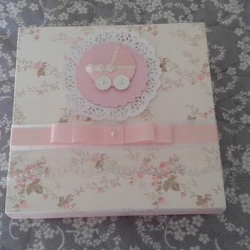 caixa lembrancinha nascimento ou batizad