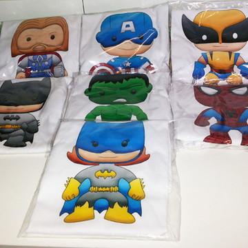 "Camiseta ""Super Herois Baby"""