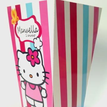 Caixa de Pipoca Hello Kitty