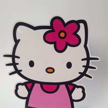 6 Enfeites de Mesa Hello Kitty