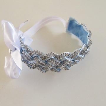 faixa headband tiara bebe criança laço