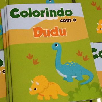 Revistinha Colorir Dinossauros