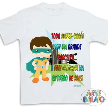 Camiseta Irmão Mais Velho Super Herói