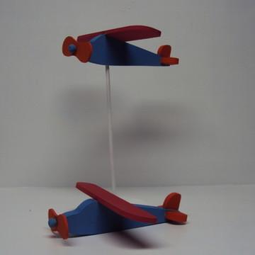 Avião pequeno príncipe centro mesa