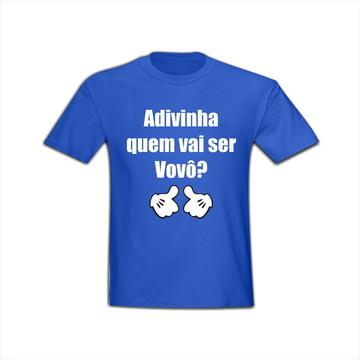 Camiseta Adivinha Quem vai ser vovô?