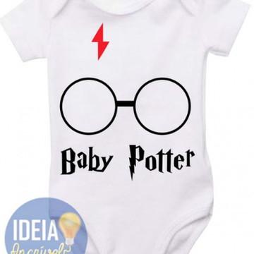 Body Infantil Baby Potter (Harry Potter)