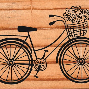 Carimbo Bicicleta