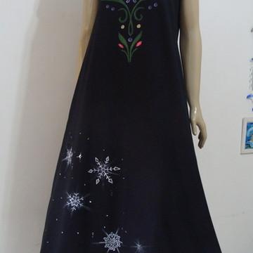 Frozen Vestido Longo