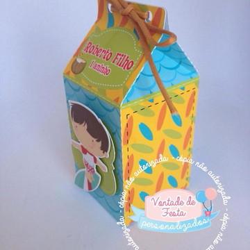 Caixa milk Festa Praia