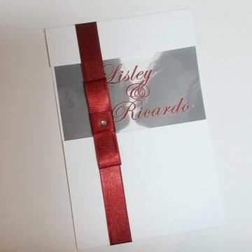 Convite de Casamento fotográfico - cód A