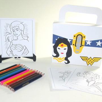 Lembrancinha Vingadores com Kit Pintura
