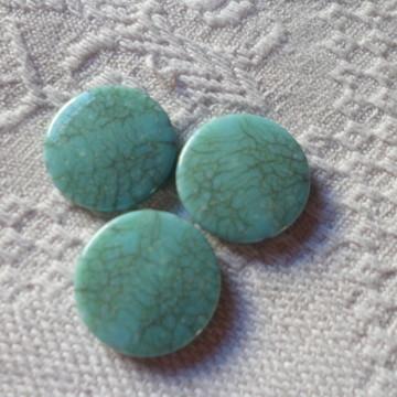 Resina Azul turquesa marmorizado.