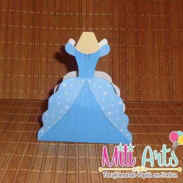 Caixa Vestido Cinderela