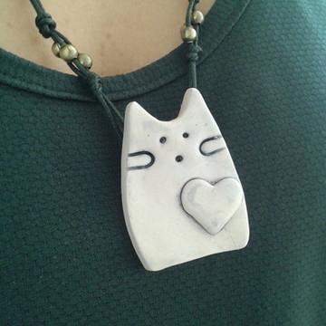 Colar Cat love