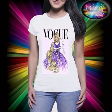 Camiseta Vogue Princesa Rapunzel