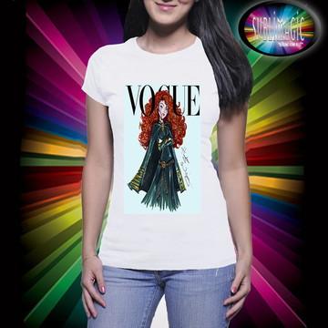 Camiseta Vogue Princesa Mérida