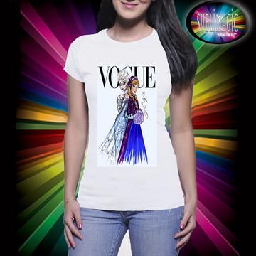 Camiseta Vogue Frozen