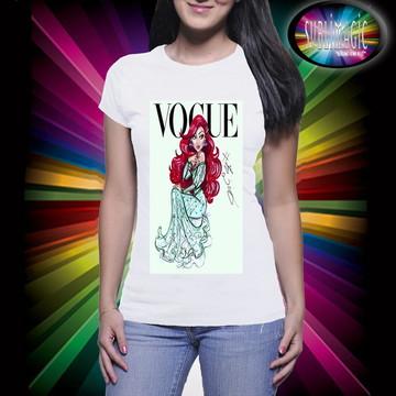 Camiseta Vogue Princesa Ariel