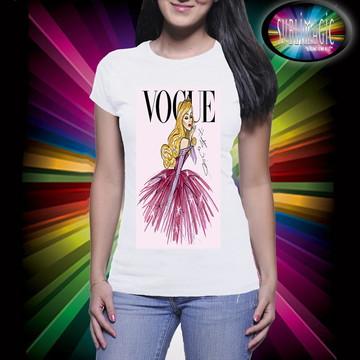 Camiseta Vogue Princesa Bela Adormecida