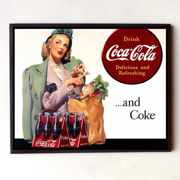 Quadro Coca cola vintage 03