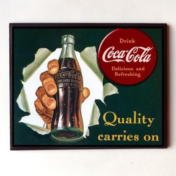 Quadro Coca cola vintage 04