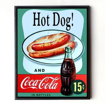 Quadro Coca cola (Hot dog) 02