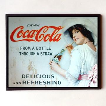 Quadro Coca cola vintage 05