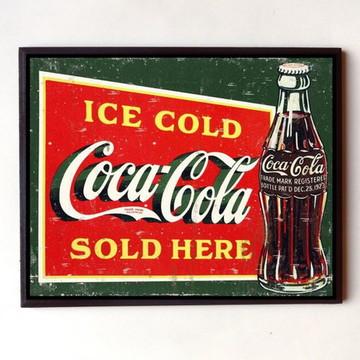 Quadro Coca cola vintage 06