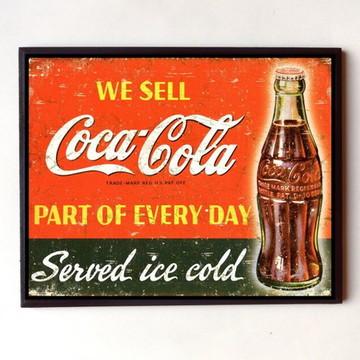 Quadro Coca cola vintage 08