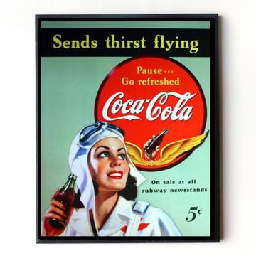 Quadro Coca cola vintage 09