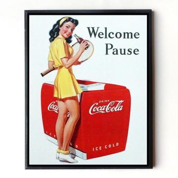 Quadro Coca cola vintage 10