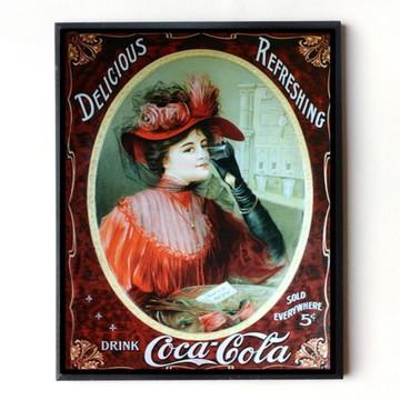 Quadro Coca cola vintage 11